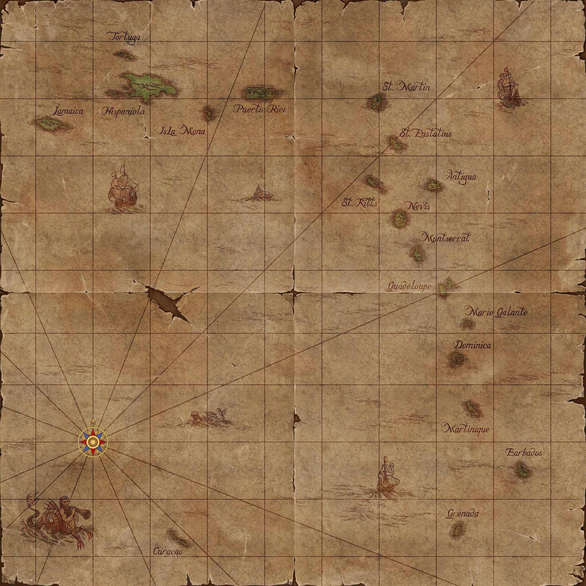 Подсказки для игры Корсары 3 Age of Pirates Carribean Tales.